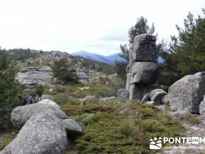 La Peñota y Peña del Arcipreste;grupo de senderismo madrid;grupo senderismo madrid